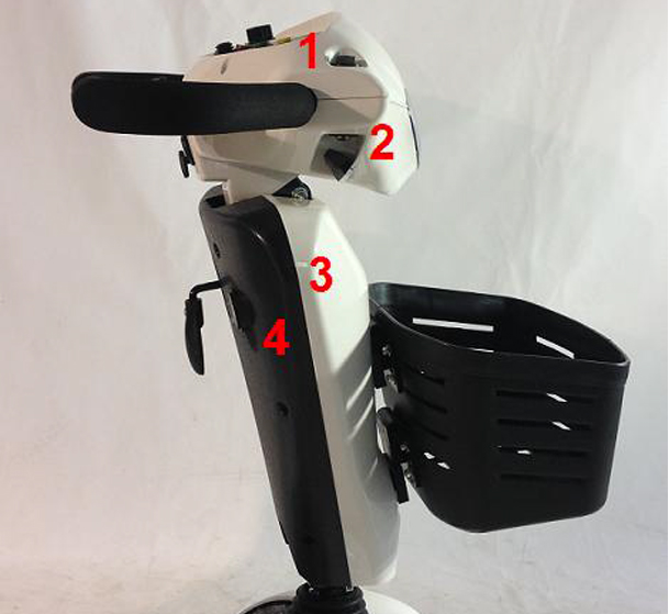 Luxury Cruiser Steering Column